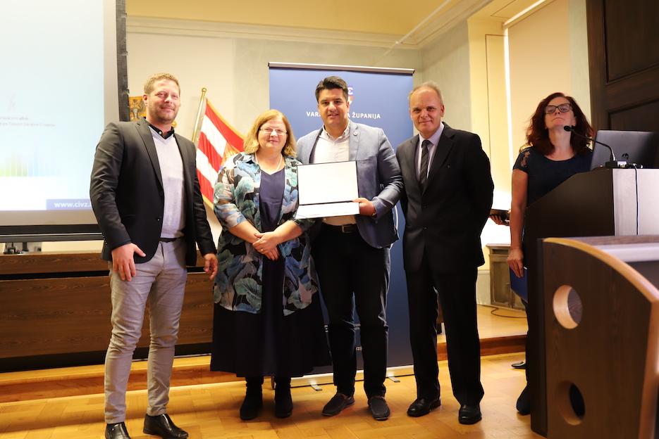 Centar izvrsnosti Splitsko-dalmatinske županije primljen u ETSN